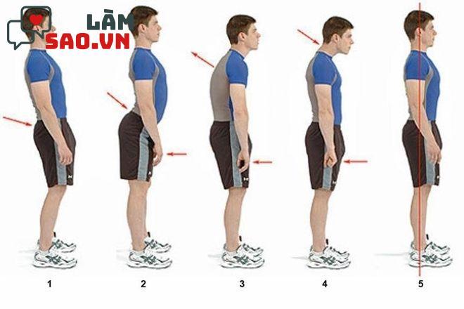 Cải thiện tư thế đứng