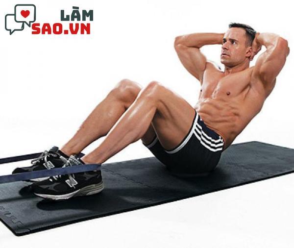 Tăng cường tập luyện cơ bụng