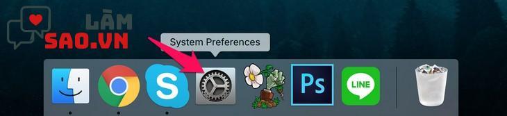 Biểu tượng System Preferences