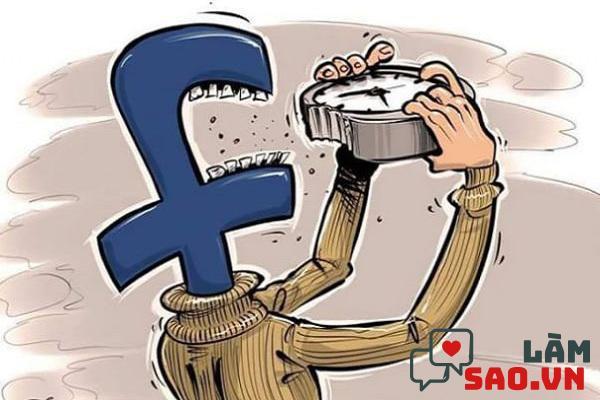 Facebook làm lãng phí thời gian