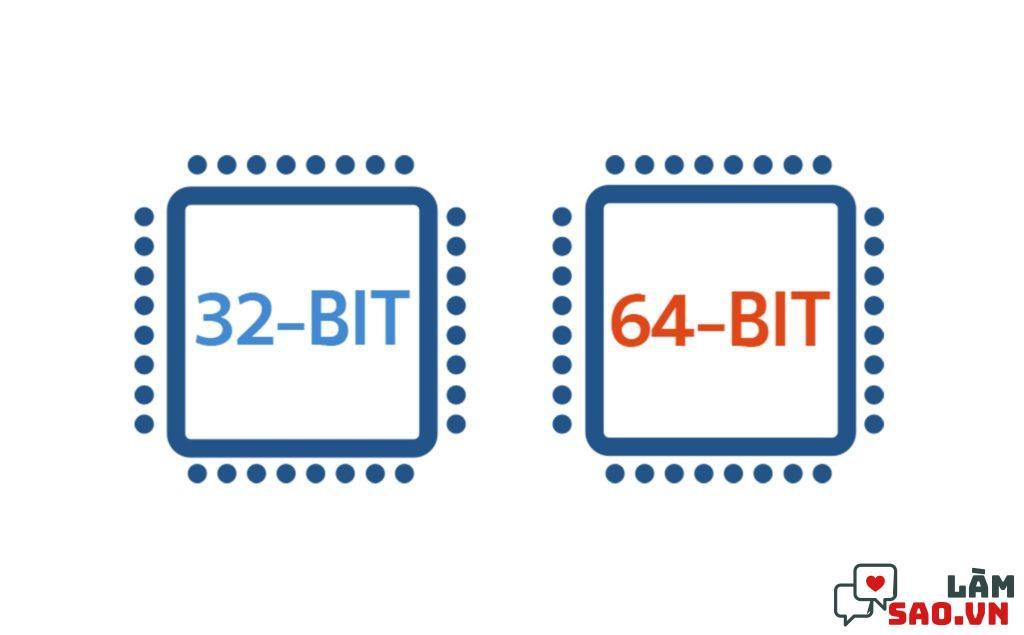 Làm sao biết máy tính 32bit hay 64bit để sử dụng một cách hiệu quả nhất