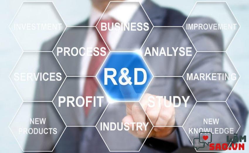 Một công ty, doanh nghiệp sản xuất muốn phát triển luôn cần bộ phận R&D tốt
