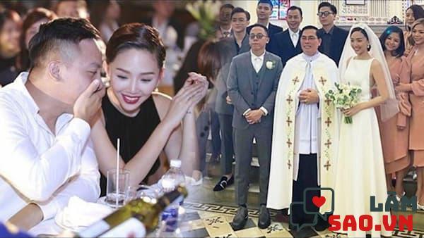 DJ Hoàng Touliver và Tóc Tiên đã chính thức làm đám cưới sau bao tin đồn hẹn hò